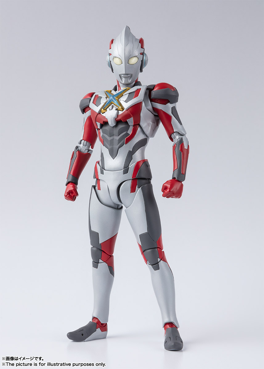 S H E Together Forever Hebe: S.H.Figuarts Ultraman X Official Photos Revealed