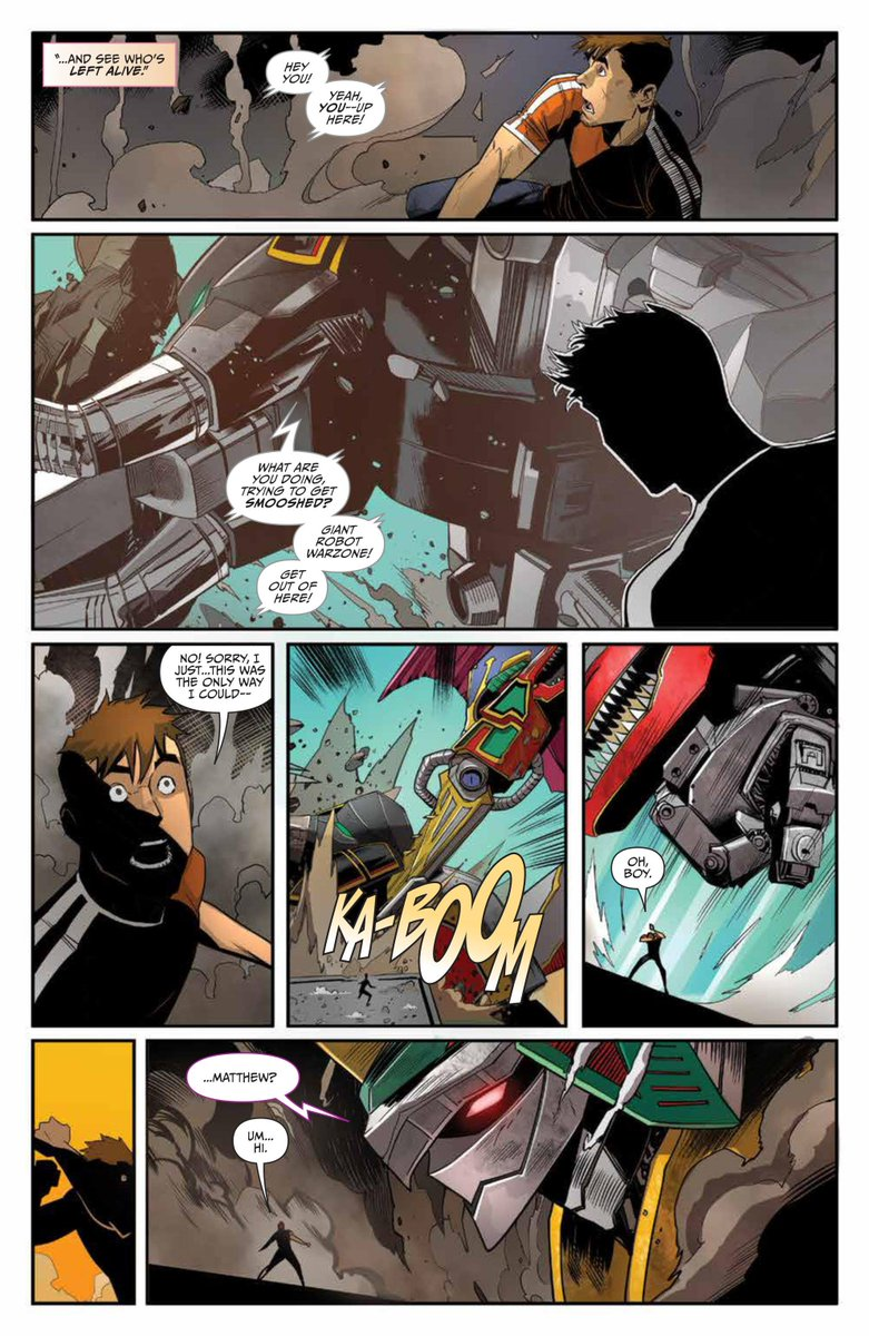 Go To Www Bing Comhella: Go Go Power Rangers Issue #11 New Preview Images Released