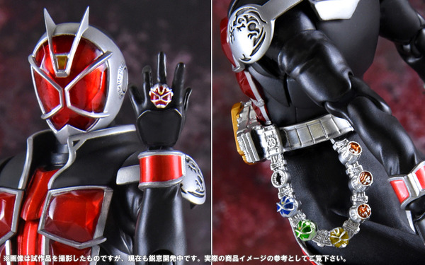 SH Figuarts Shinkocchou Seihou Kamen Rider Wizard Flame Style