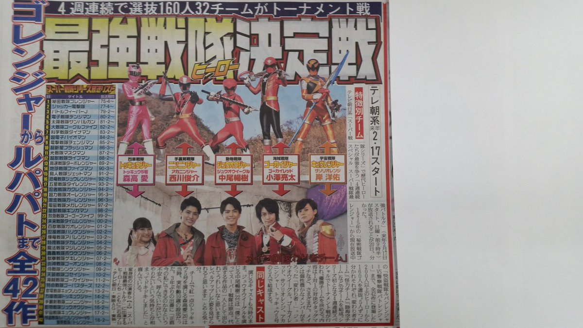 Super sentai strongest battle episode 1 who is the strong - 1 9