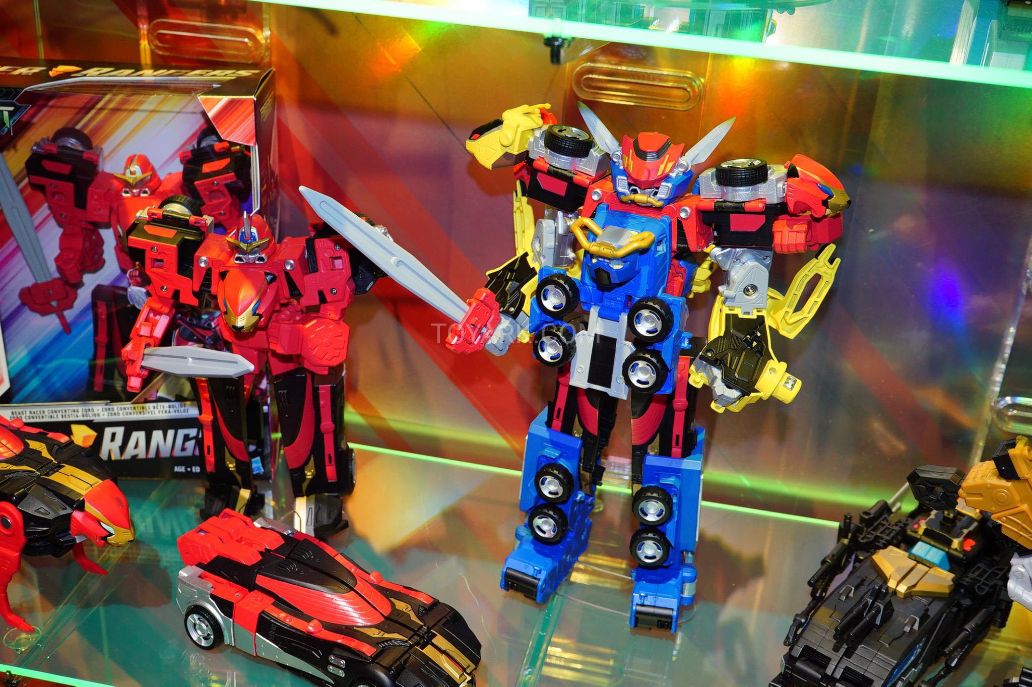 Toy Fair 2019 - Power Rangers Beast Morphers Display