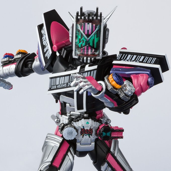 S.H.Figuarts Kamen Rider Zi-O Decade Armor Revealed