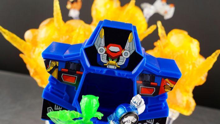 Power Rangers Micro Morphers Rangers & Zords Blind Bag Mini Gallery