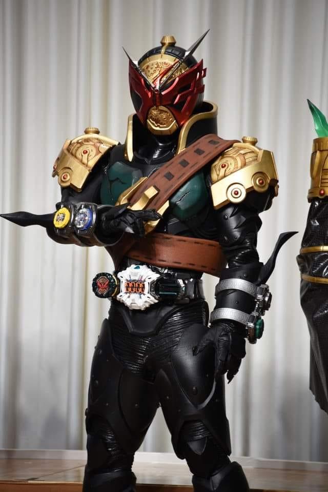 Kamen Rider Zi-O Movie Riders Revealed! Introducing Kamen Rider Barx