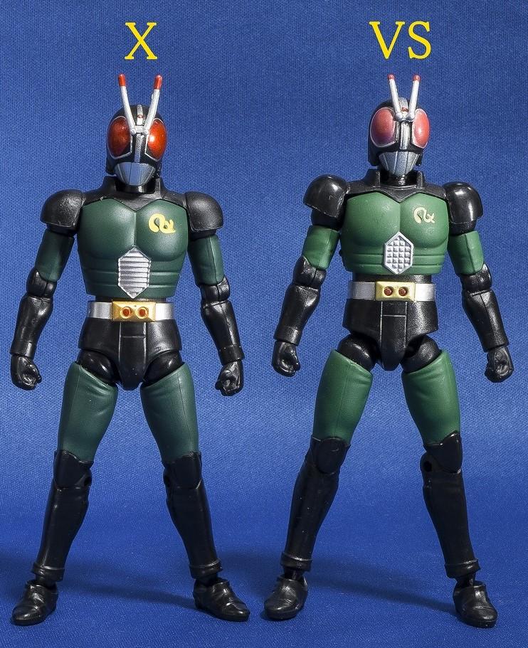 Shodo-X: Kamen Rider Agito & Black/RX Waves Revealed