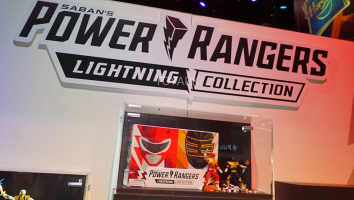 SDCC 50: Hasbro Power Rangers Lightning Collection On Display