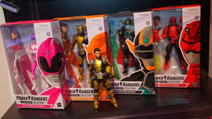 SDCC 50: Hi-Res Images of Power Rangers Lightning Collection Wave 2 & White Ranger Helmet