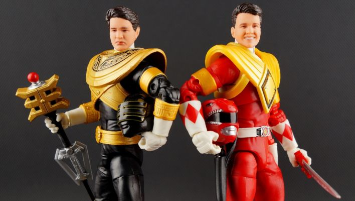SDCC Lightning Collection Dragon Shield Red Ranger & Zeo Gold Ranger Gallery