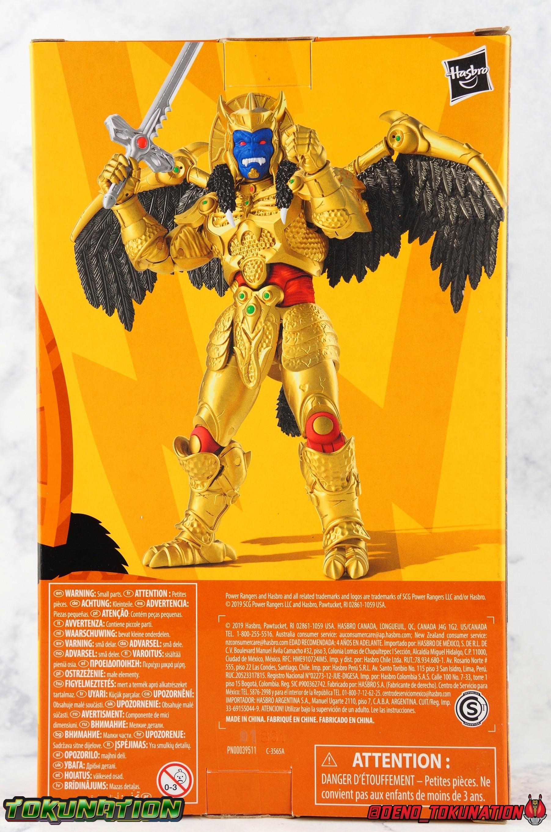 POWER RANGERS LA FOUDRE COLLECTION Goldar Hasbro Gamestop Exclusive