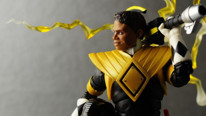 Power Rangers Lightning Collection Dragon Shield Mighty Morphin Black Ranger Gallery