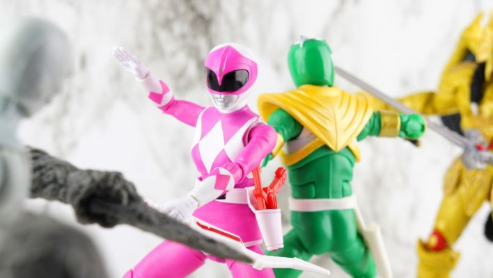 Toku Toy Box: Power Rangers Lightning Collection Mighty Morphin Pink Ranger Gallery
