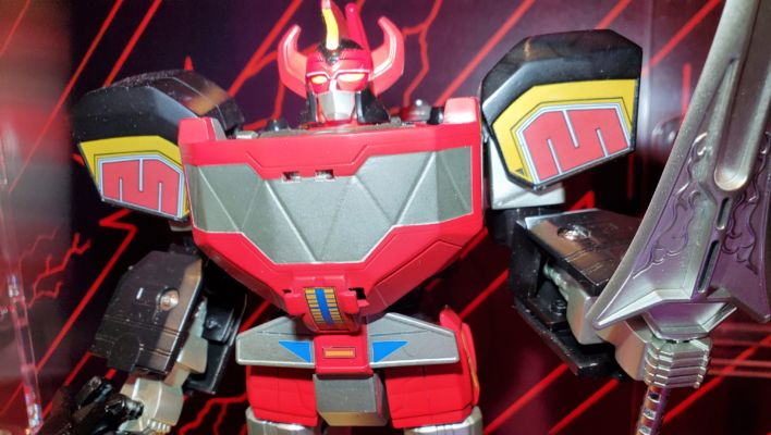 New York Toy Fair: Hasbro Buildable Mighty Morphin Dino Megazord On Display