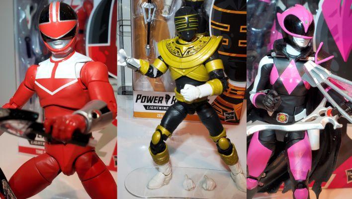 New York Toy Fair: Hasbro Power Rangers Lightning Collection Display