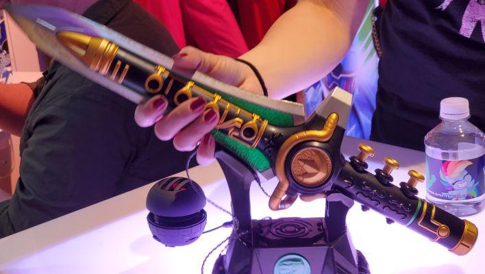 New York Toy Fair: Hasbro Lightning Collection Green Ranger Dragon Dagger Images