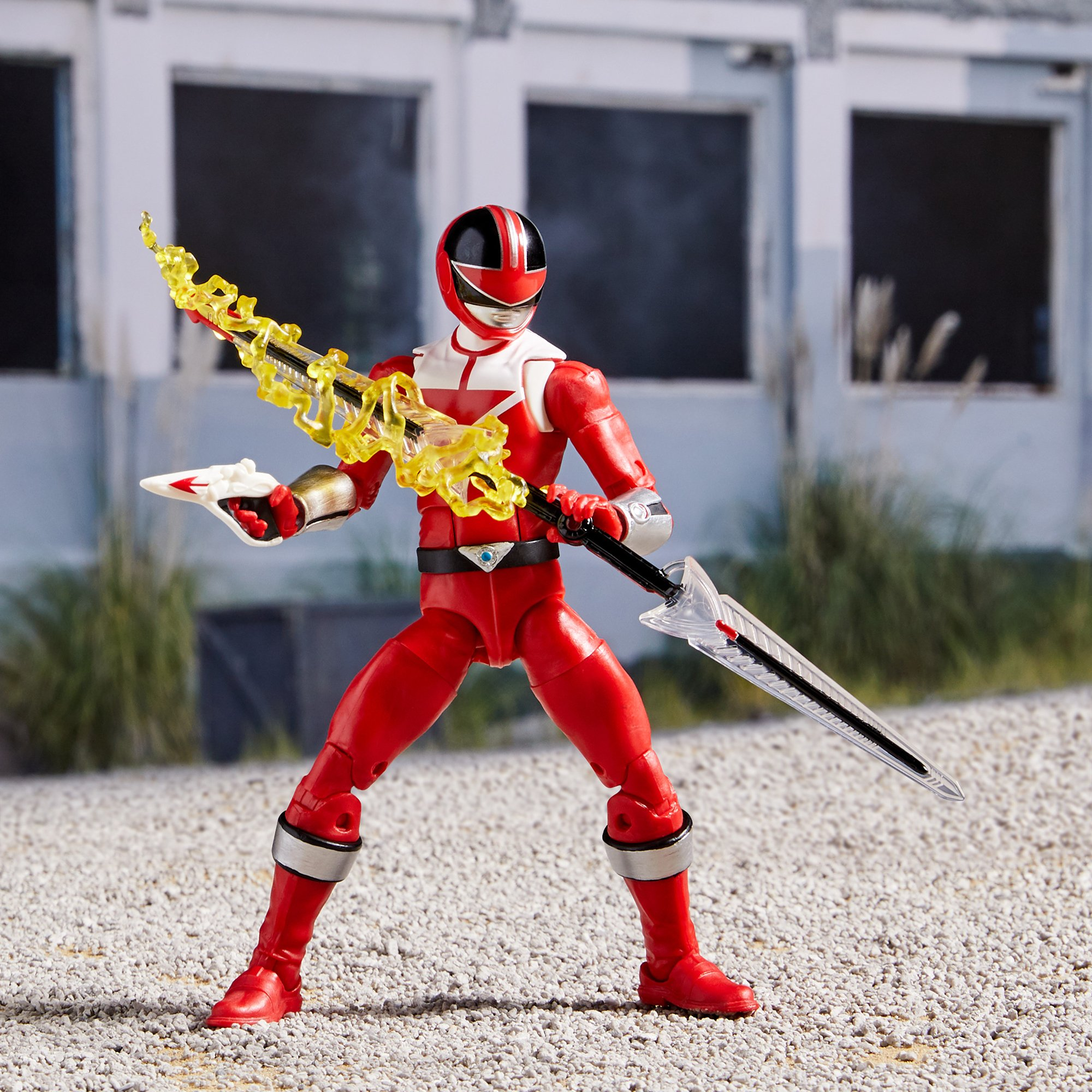 Power Rangers Lightning Collection Time Force Red Ranger Official Images