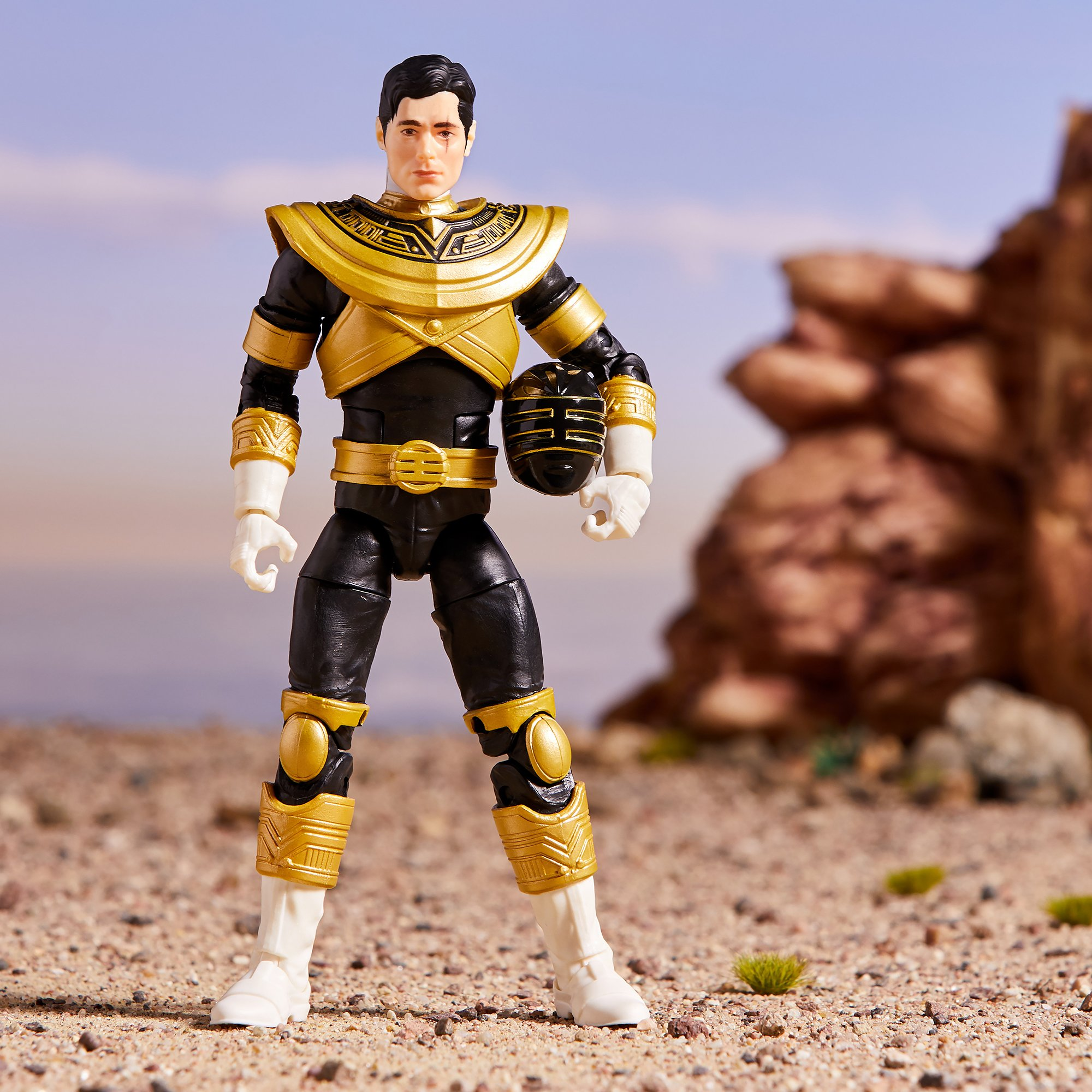 Power Rangers Lightning Collection Zeo Gold Ranger (Trey of Triforia) Official Images