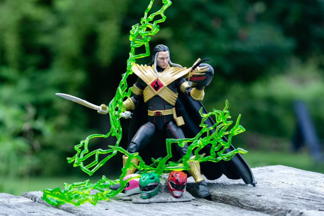 Power Rangers Lightning Collection Lord Drakkon EVO III Fully Revealed