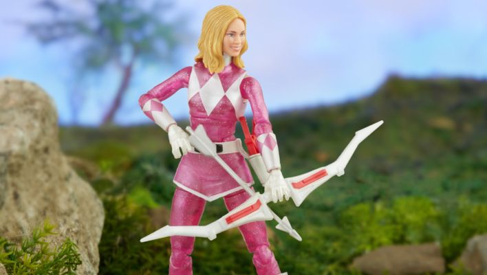 Hasbro Pulse Exclusive - Metallic Armor Mighty Morphin Pink Ranger Katherine