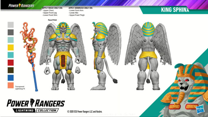 Hasbro PulseCon - Power Rangers Lightning Collection Monsters