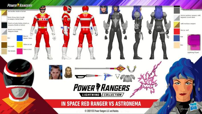 Hasbro PulseCon - Power Rangers Lightning Collection VS Packs