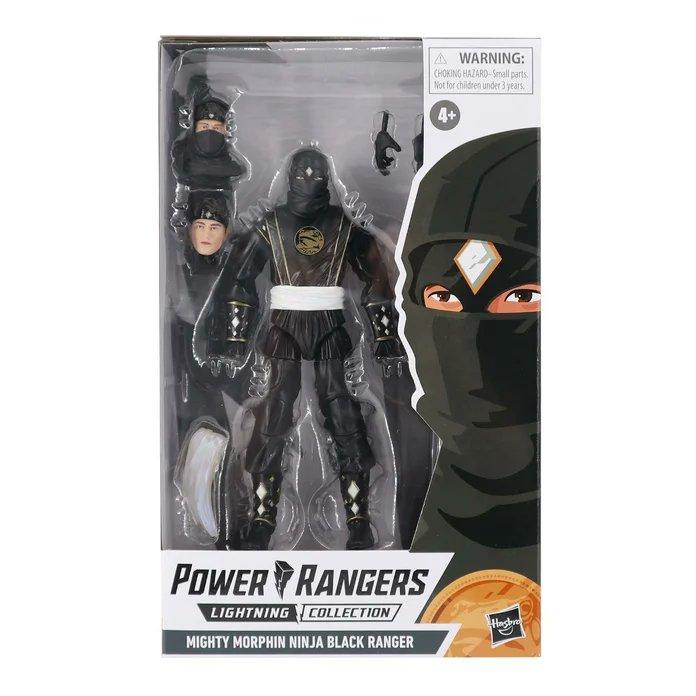 Power Rangers Lightning Collection Ninja Black & Ninja Blue Rangers Revealed!