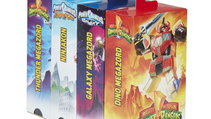New Power Rangers Retro Line Additions - Megazord Figures Revealed