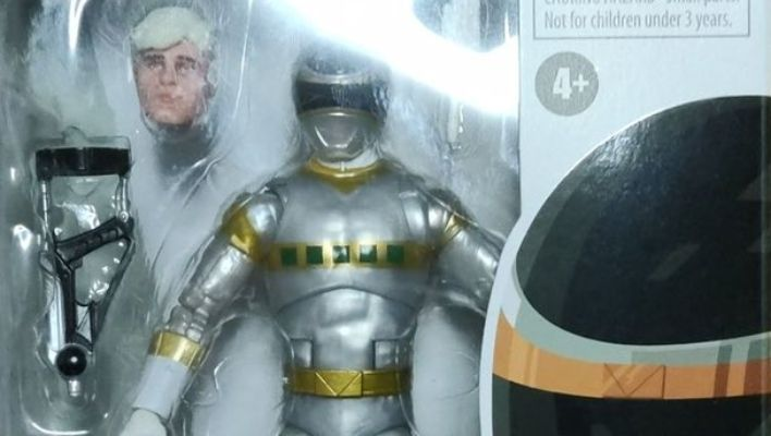 First Look at Power Rangers Lightning Collection In Space Silver Ranger